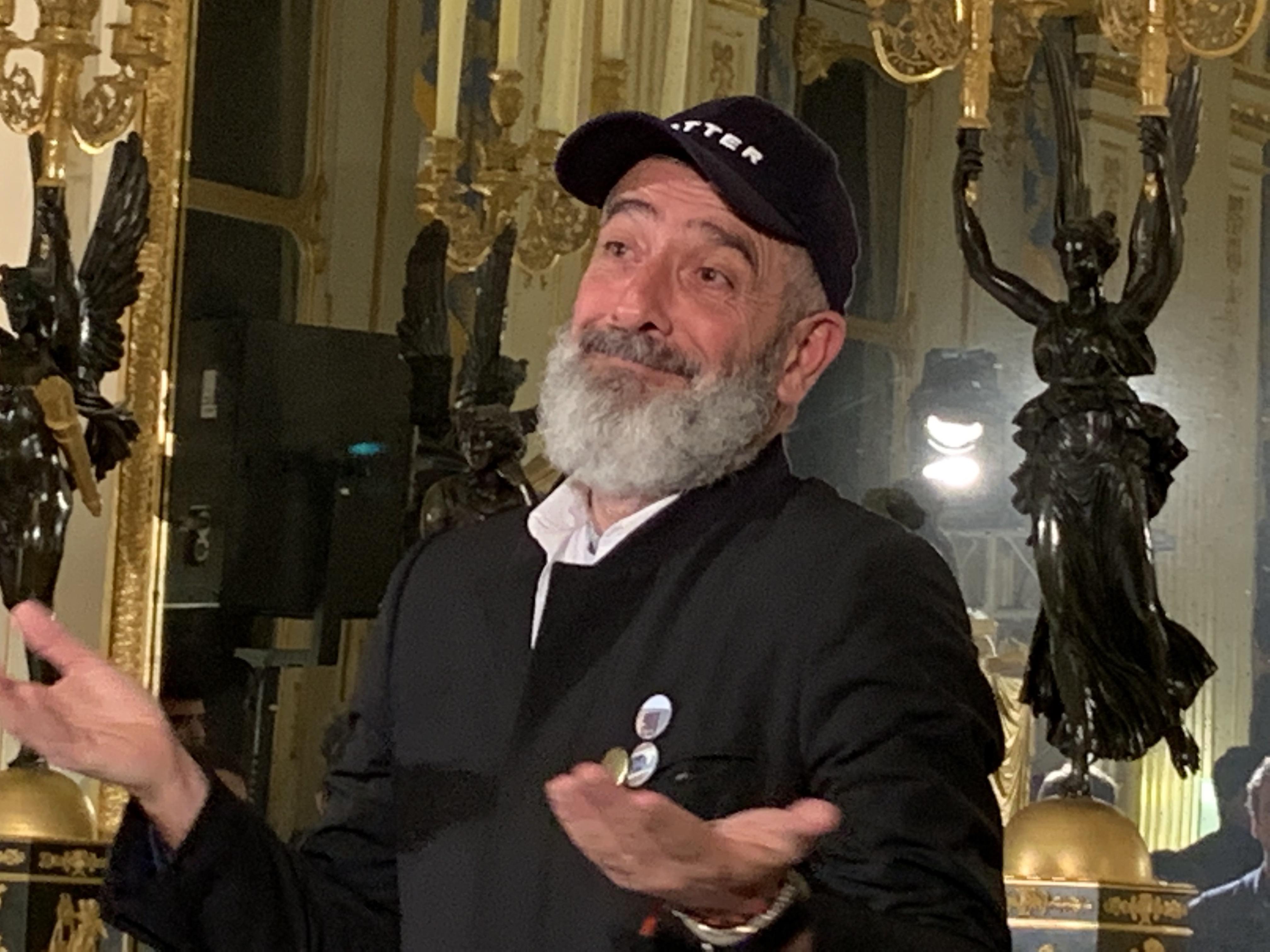 Jean-Pierre Blanc, FESTIVAL INTERNATIONAL DE MODE & DE PHOTOGRAPHIE HYÈRES, annonce des jurys et finalistes, 2019.