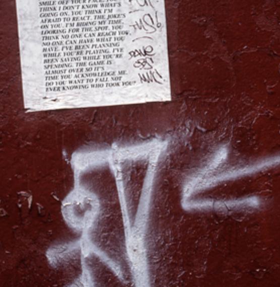 Jenny Holzer from Inflammatory Essays (1979–82), 1982 Courtesy the artist © 2019 Jenny Holzer, member Artists Rights Society (ARS), NY / VEGAP Photo: Jenny Holzer