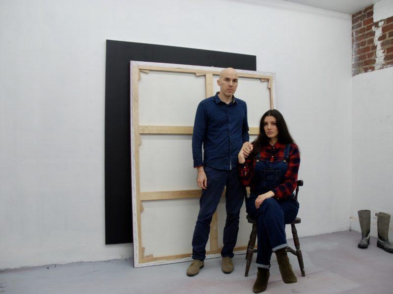 Rachel Labastie et Nicolas Delprat. Rencontre dans leur atelier bruxellois autour de Barbara Polla.