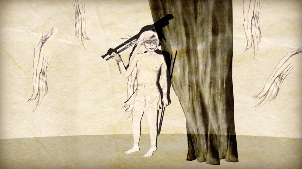 EVA MAGYAROSI, « Tundra », 2019 Vidéo d'animation. Courtesy de l'artiste – Topographie de l'Art