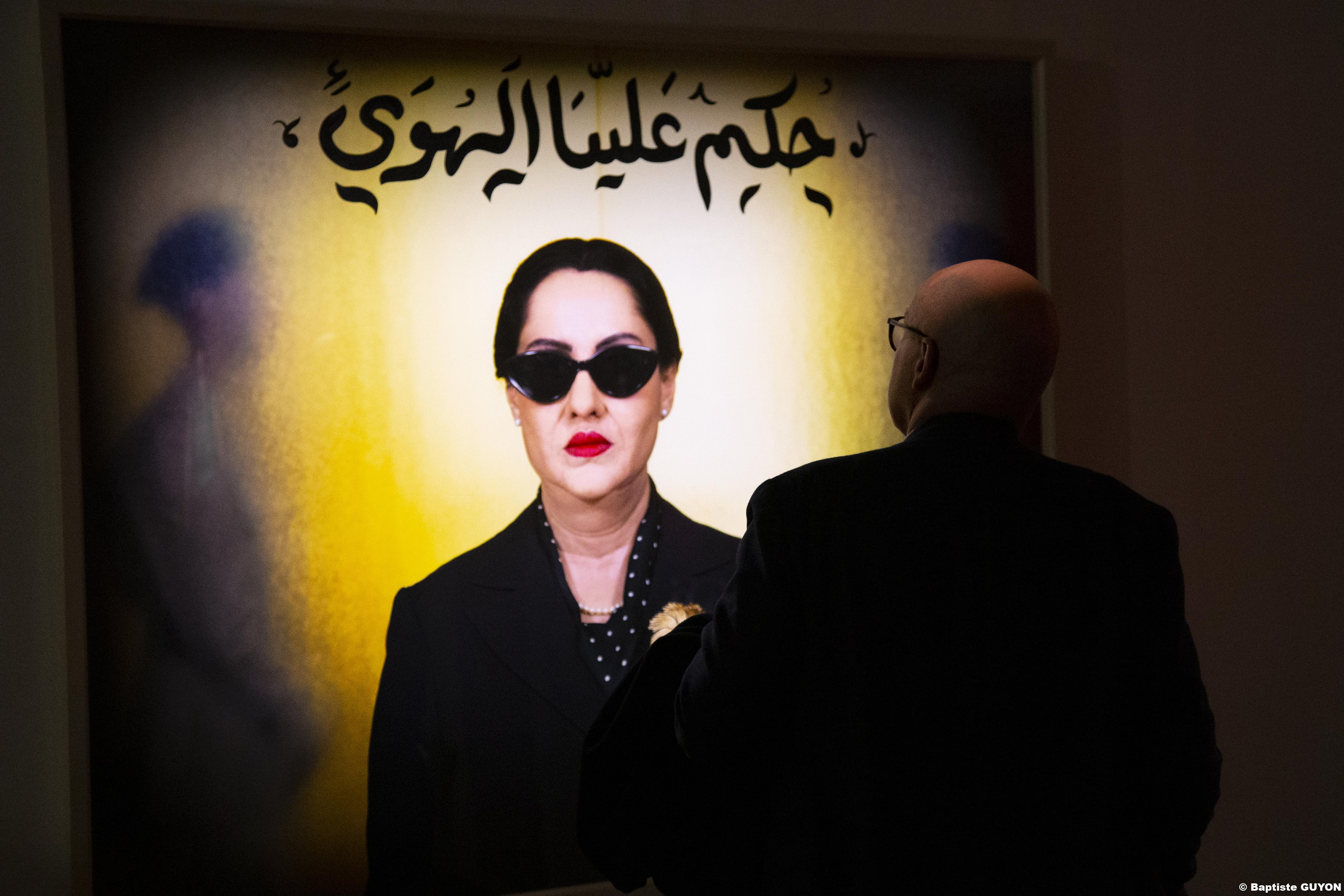 Crédit photo : © Shirin Neshat, Courtesy Noirmont art production, Vue de l'exposition, Photographie Baptiste Guyon, ARTVISIONS.