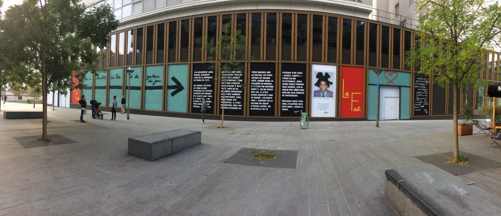 Vue de la façade de La Fab. © Copyright La Fab. View of La Fab.'s facade. © Copyright La Fab.