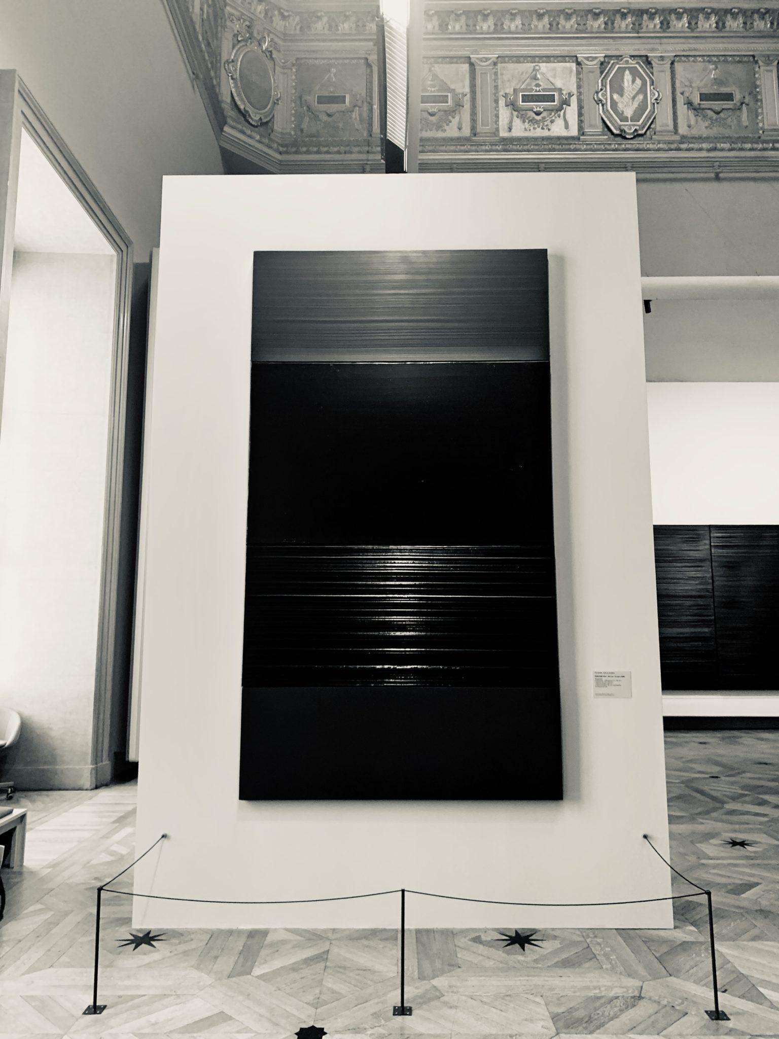 Exposition Soulages au Louvre 2019, Photographie de l'exposition courtesy Artvisions
