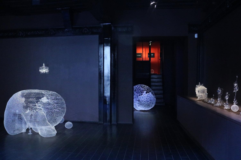 Vue+d'exposition,+Le+Prologue+de+la+Matière,+Kim+KototamaLune,+Courtesy+de+l'artiste+et+de+la+Galerie+Da-End,+2020-1
