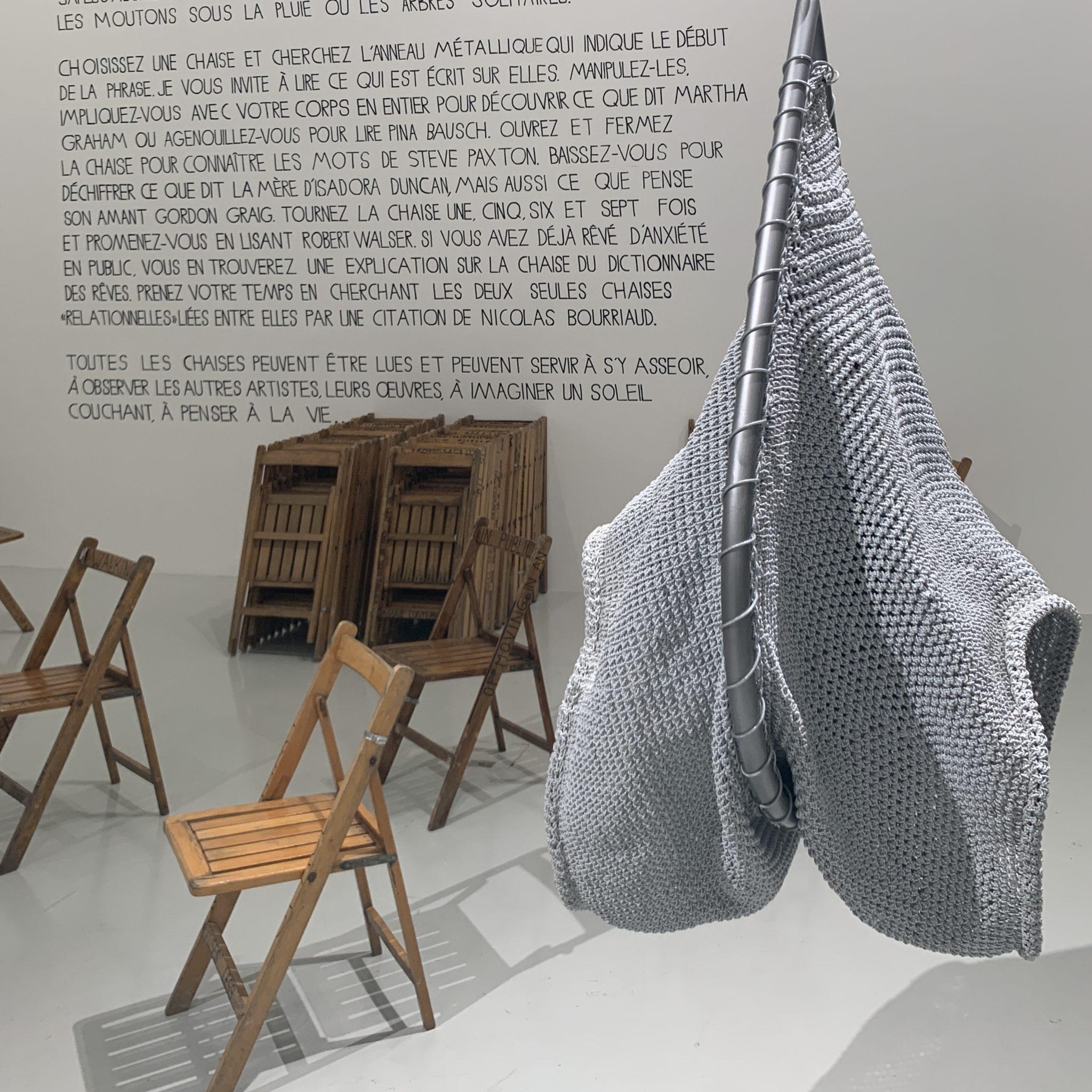 Christelle Familiari, Vue de l'exposition «Dancing Machine», Frac Besançon, courtesy artvisions2020