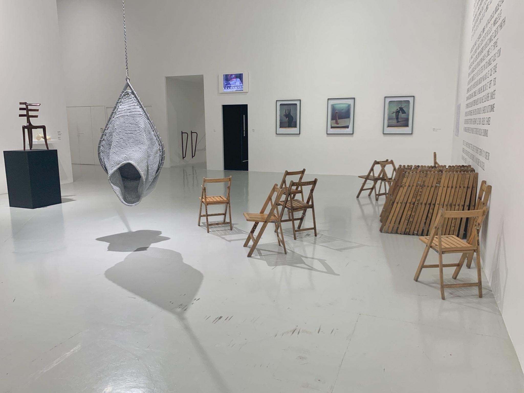Vue de l'exposition «Dancing Machine», Frac Besançon, courtesy artvisions2020