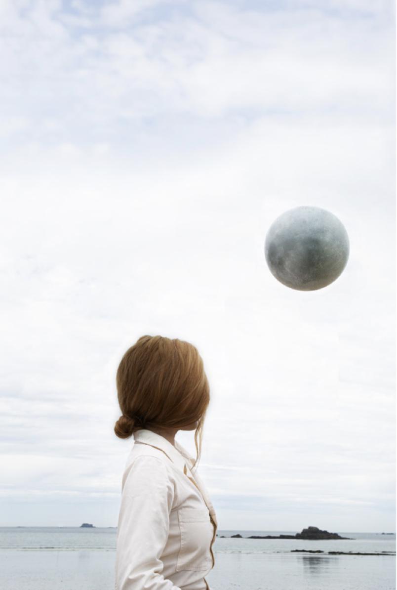 Maia Flore, Moonday, 2020 Tirage à encres pigmentaire sur papier baryté, 70 x 57 cm Edition de 7