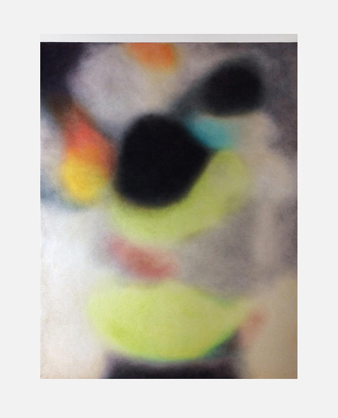 «Suruç, Turquie, 20 juillet 2015» Dessin aux crayons de couleurs sur feutre 50x60cm 2019, galerie Paris-Beijing