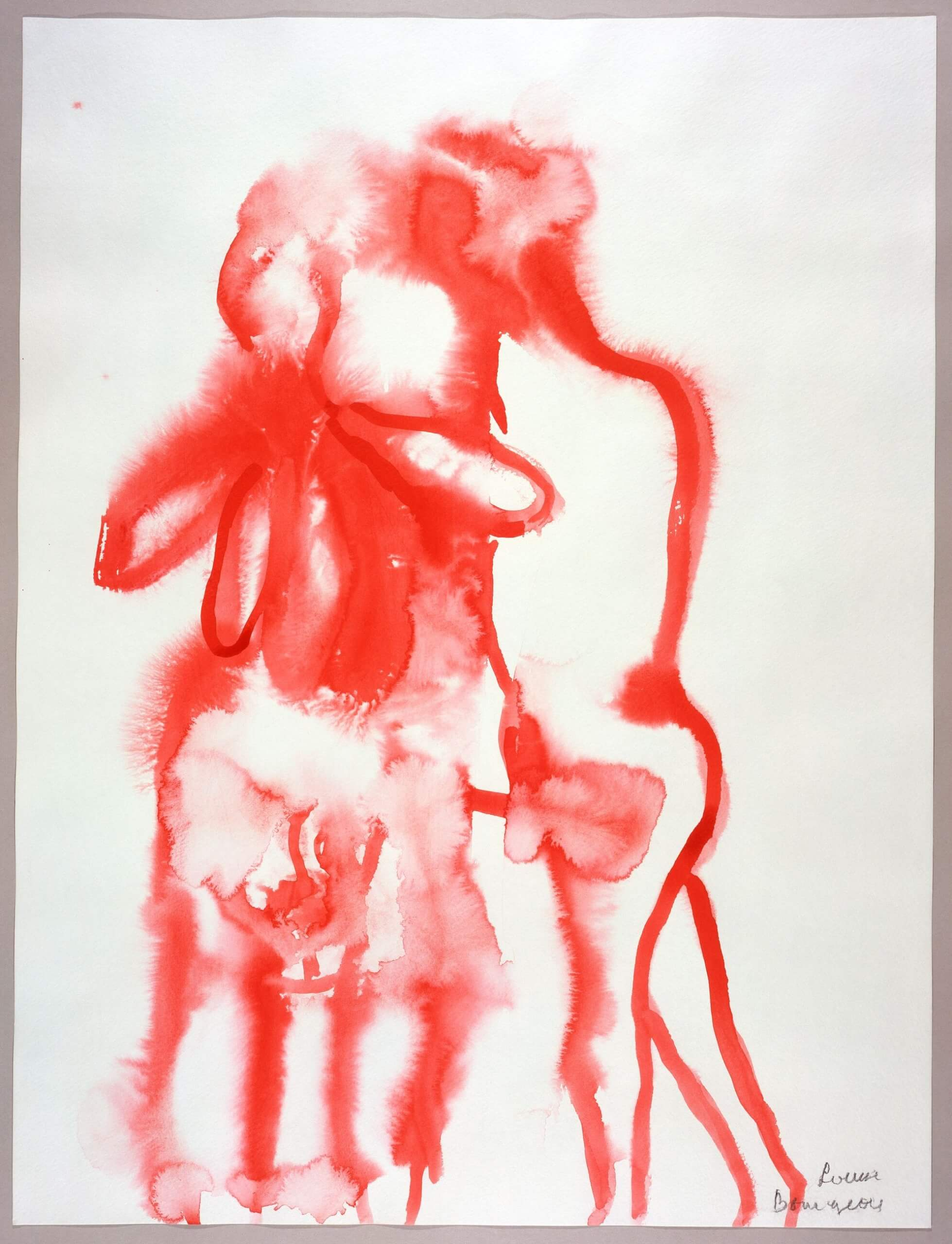 The Family Louise Bourgeois 2007 Gouache on paper, courtesy galerie Hauser & Wirth