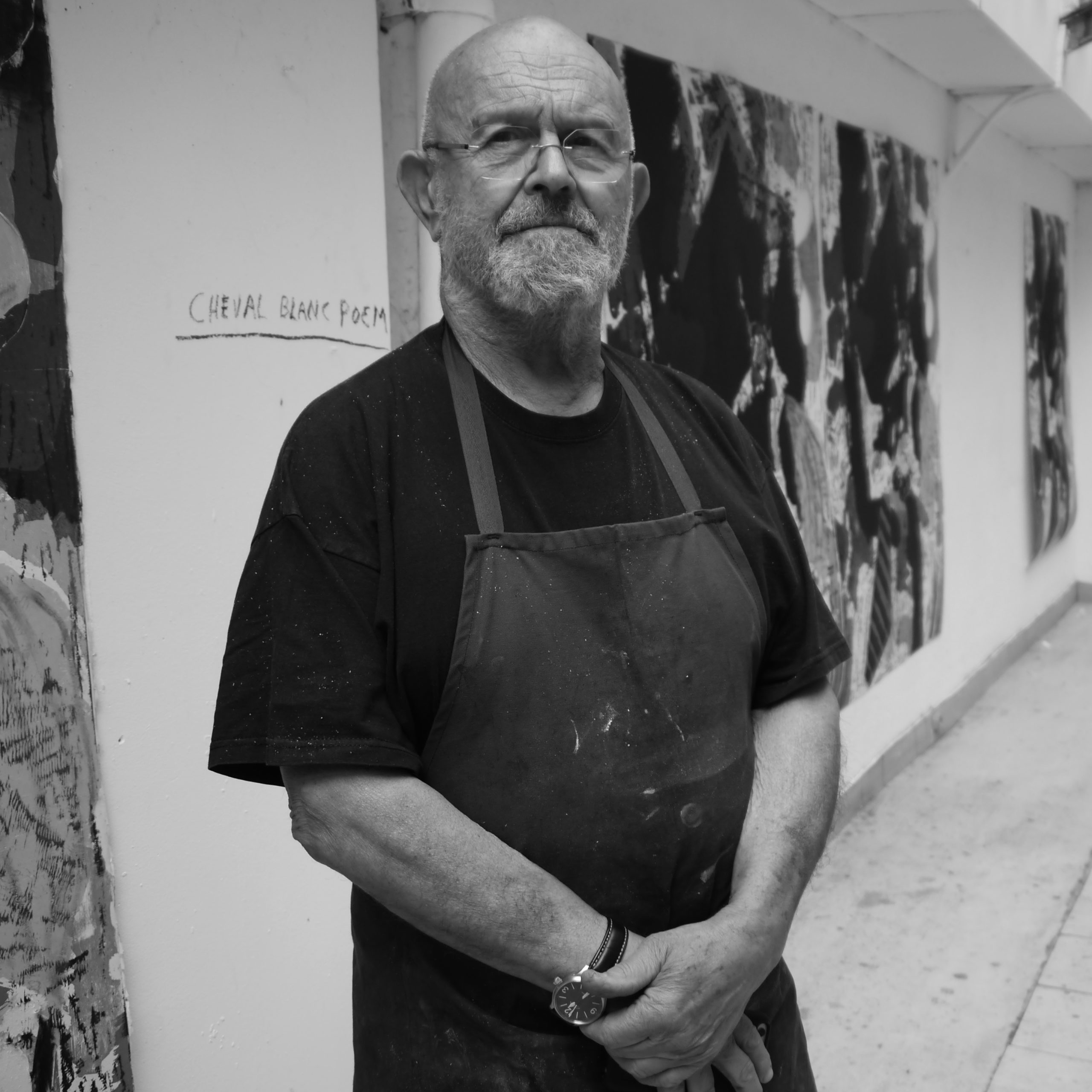 JIM DINE PORTRAIT, courtesy Galerie Templon Paris/Bruxelles
