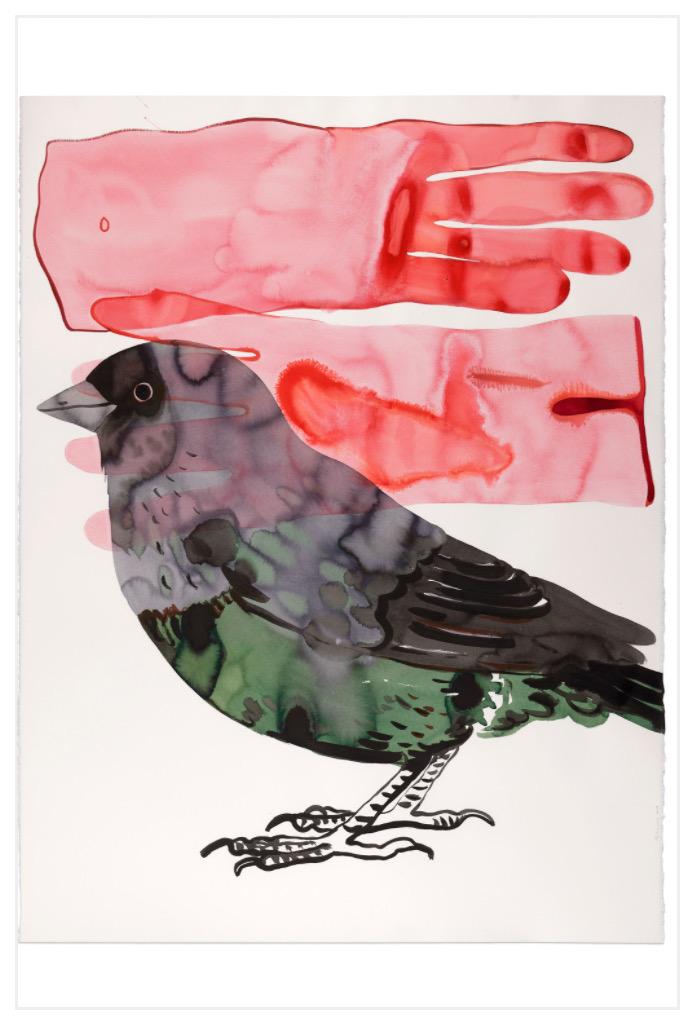 Françoise Pétrovitch Sans titre, 2019 Lavis d'encre sur papier / Ink on paper 160 × 120 cm / 63 × 47 2/8 inches No Inv. FP19061 Photo : A. Mole Courtesy Semiose, Paris