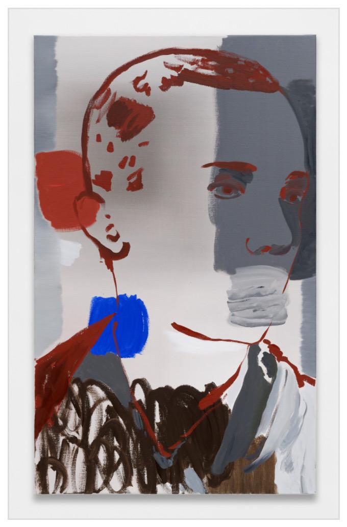 Françoise Pétrovitch Sans titre, 2019 Huile sur toile / Oil on canvas 130 × 80 cm / 51 1/8 × 31 1/2 inches No Inv. FP19090 Photo : A. Mole Courtesy Semiose, Paris