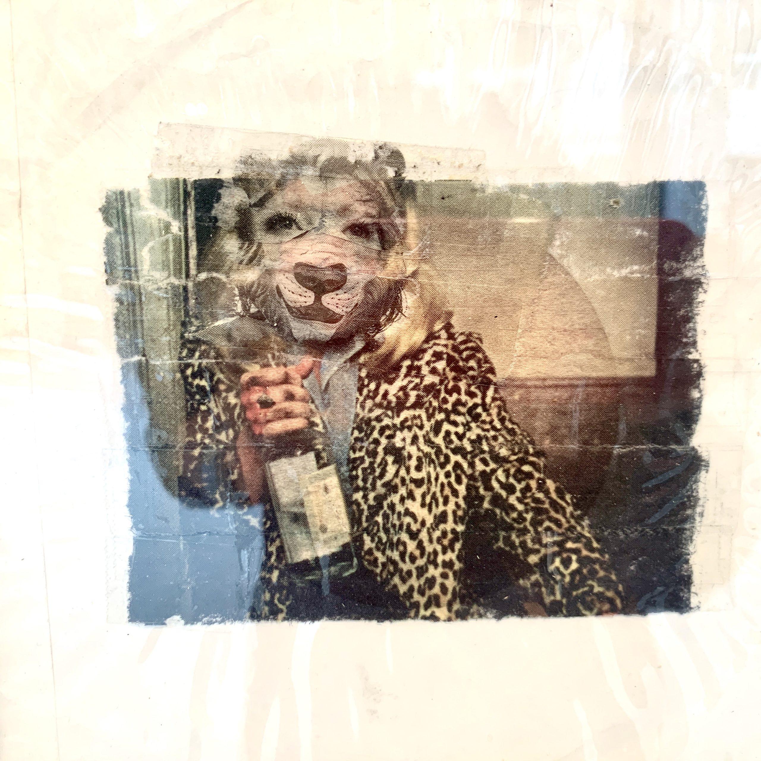 Pierre Emery, collage. «Mauvaises graines», Paris, 22, rue Visconti. Du 18 au 22 septembre 2020. Photo artvisions.