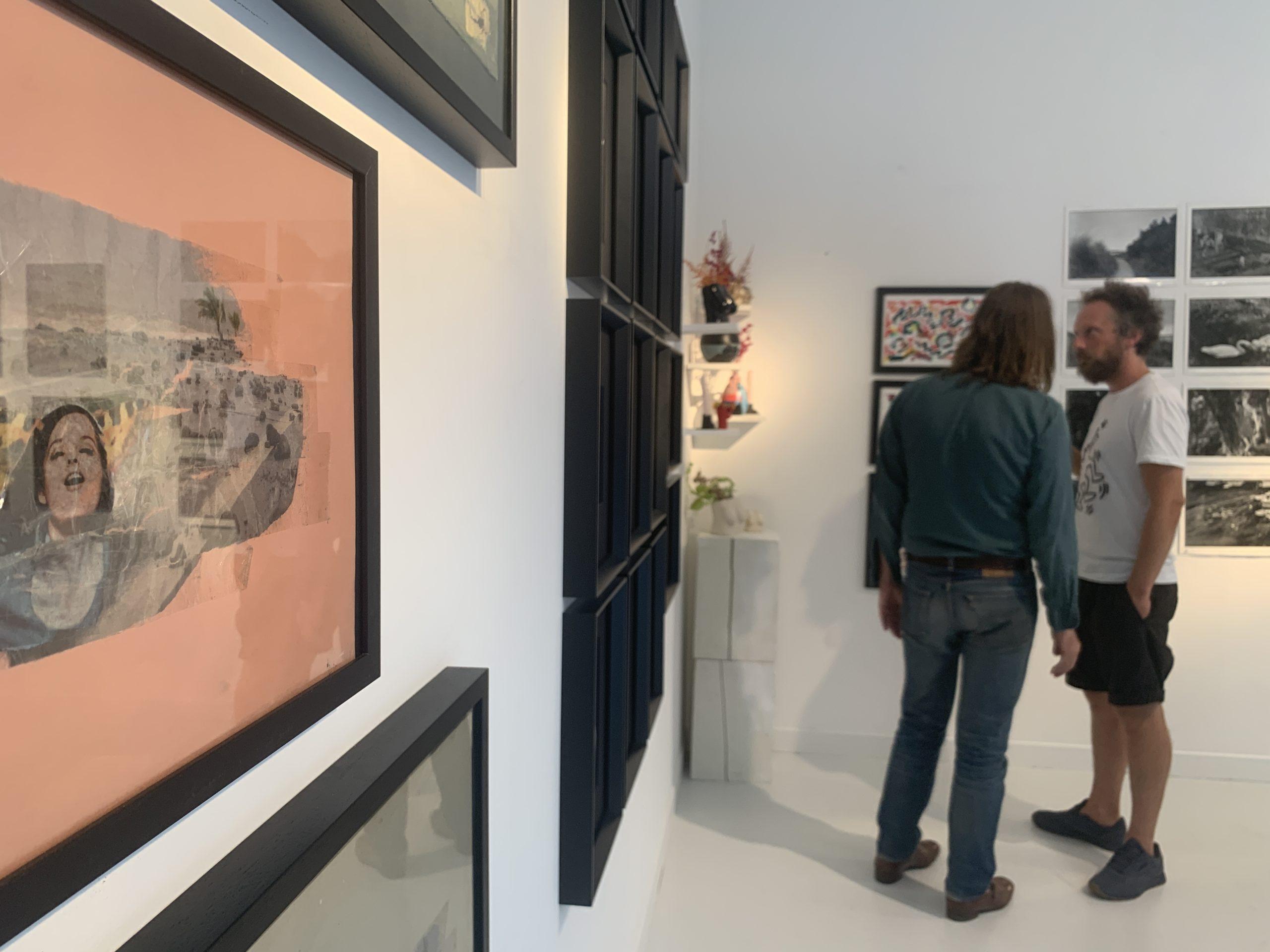 «Mauvaises graines», Vue de l'exposition, Paris, 22, rue Visconti. Du 18 au 22 septembre 2020. Courtesy artvisions.