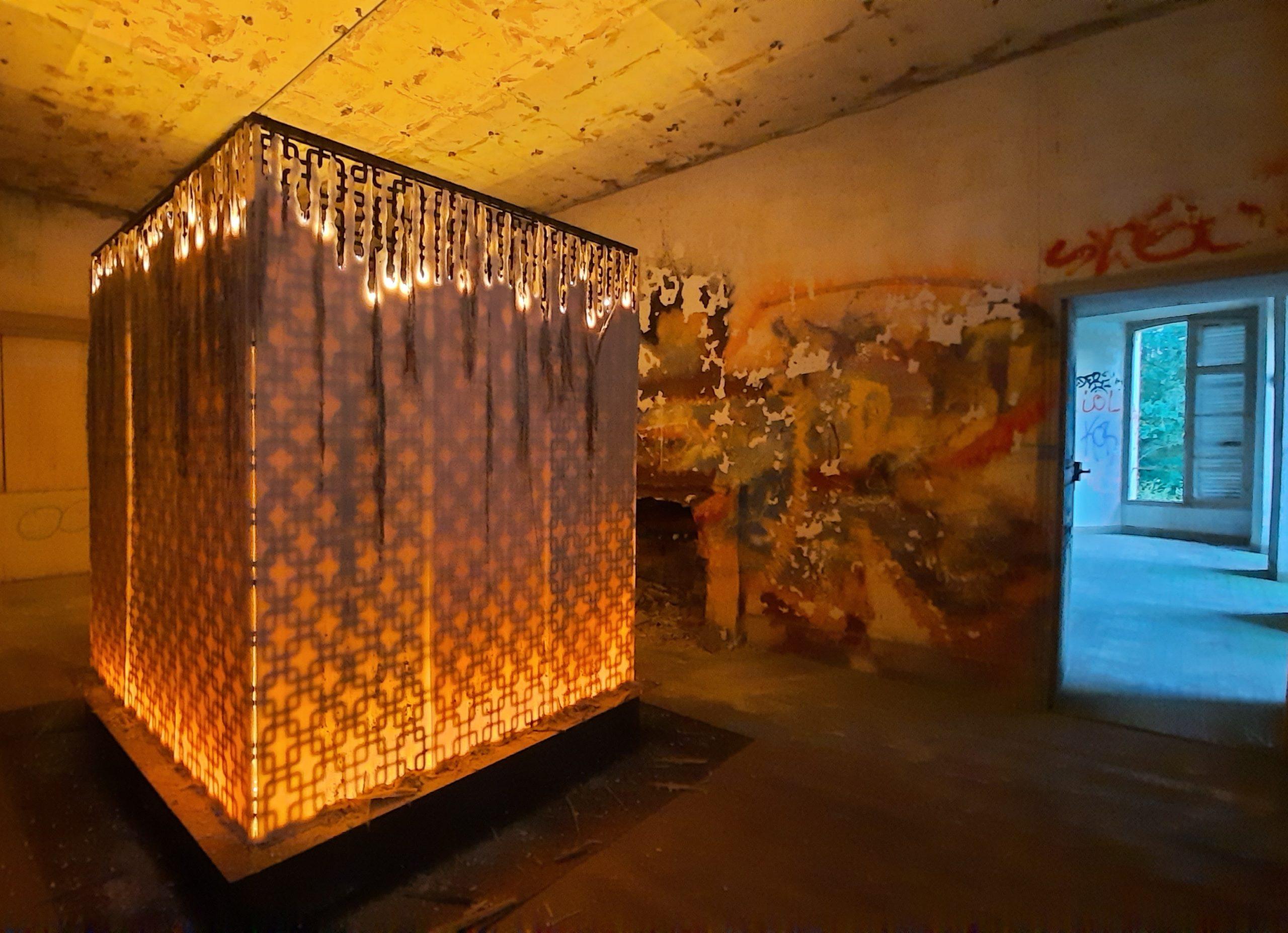 GARDEN PARTY URBEX installation Juliette Minchin 1 credit Valerie Arconati 2020