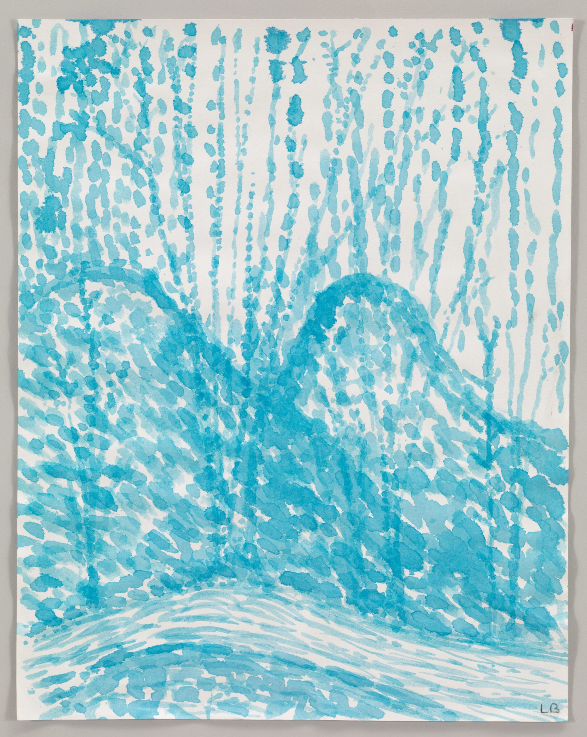 Louise Bourgeois   Untitled 2003 Watercolor on paper 28.9 x 22.9 cm / 11 3/8 x 9 in Photo: Christopher Burke © The Easton Foundation / 2020, ProLitteris, Zurich Courtesy The Easton Foundation and Hauser & Wirth