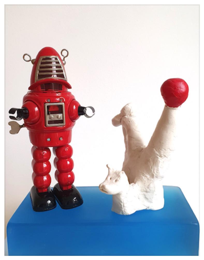 Aki Kuroda, galerie Louis Gendre, Cosmocity, 2021.