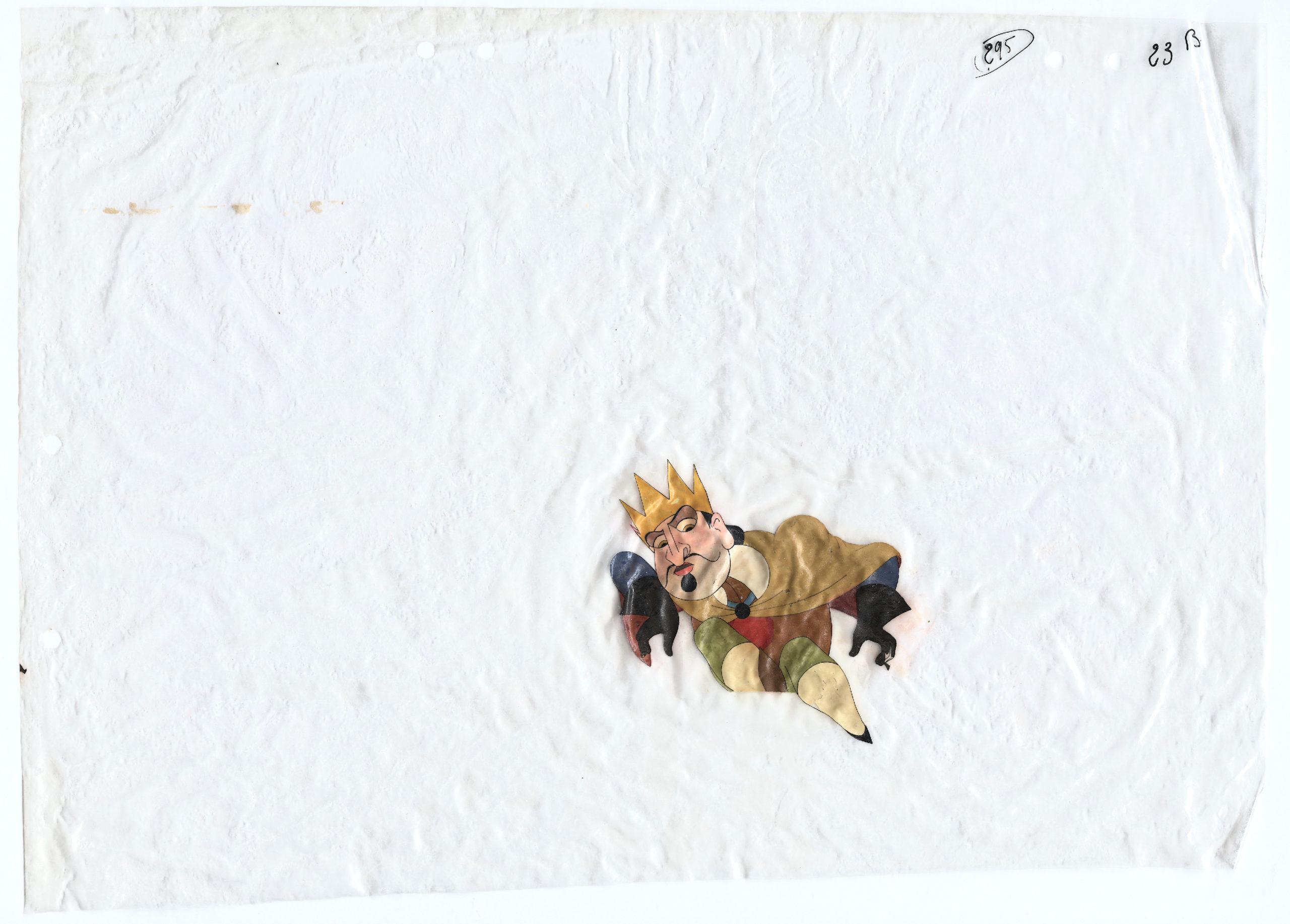 Paul Grimault, La Bergère et le Ramoneur, 1948, celluloïd d'animation, Collection La Cinémathèque française © Succession Paul Grimault