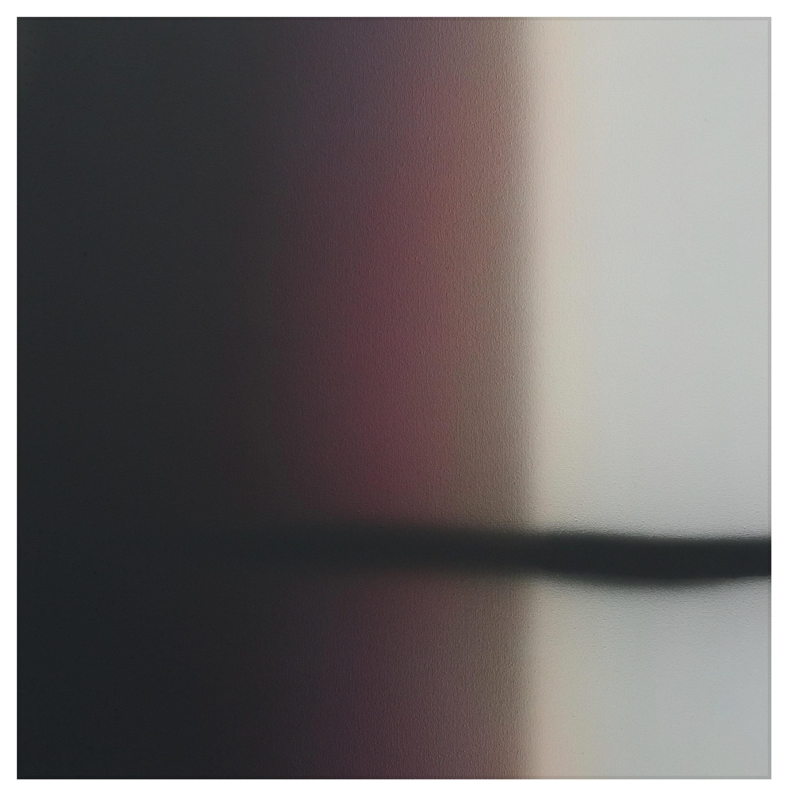 Nicolas Delprat, James, Fragmentation 4 acrylique sur toile 60×60 cm 2020 N°1, courtesy Nicolas Delprat