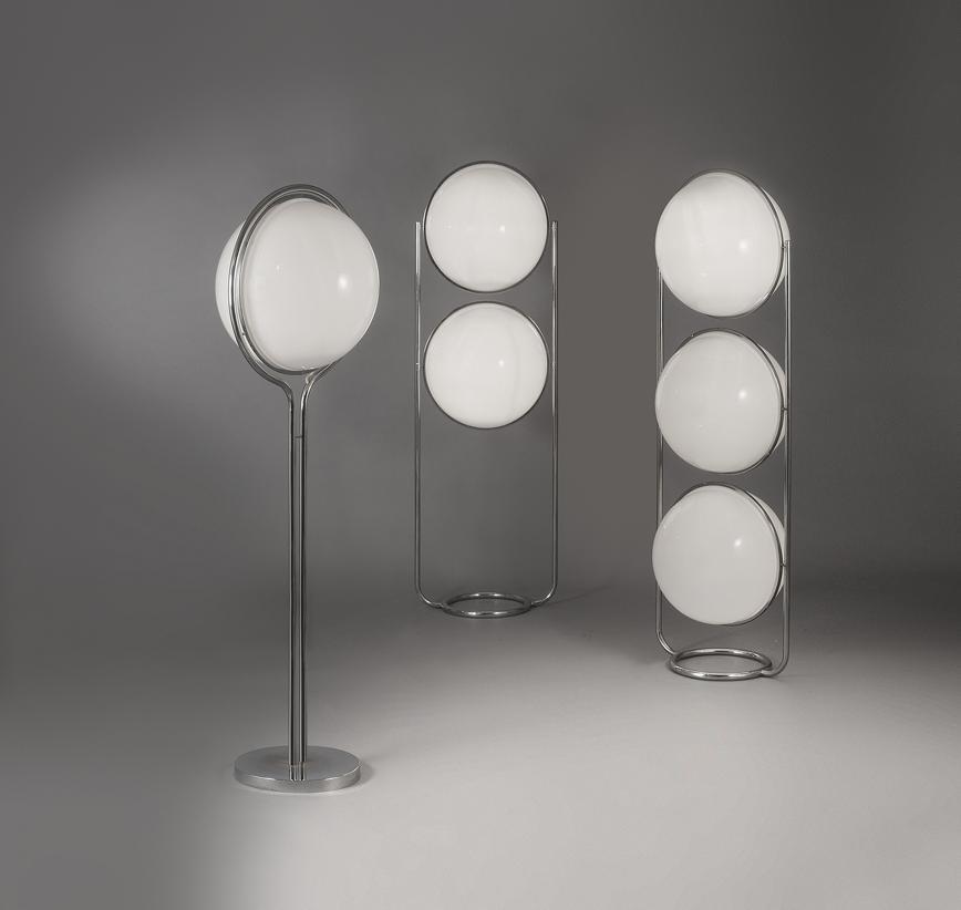 Variation sur les luminaire -boules de GARRAULT DELORD