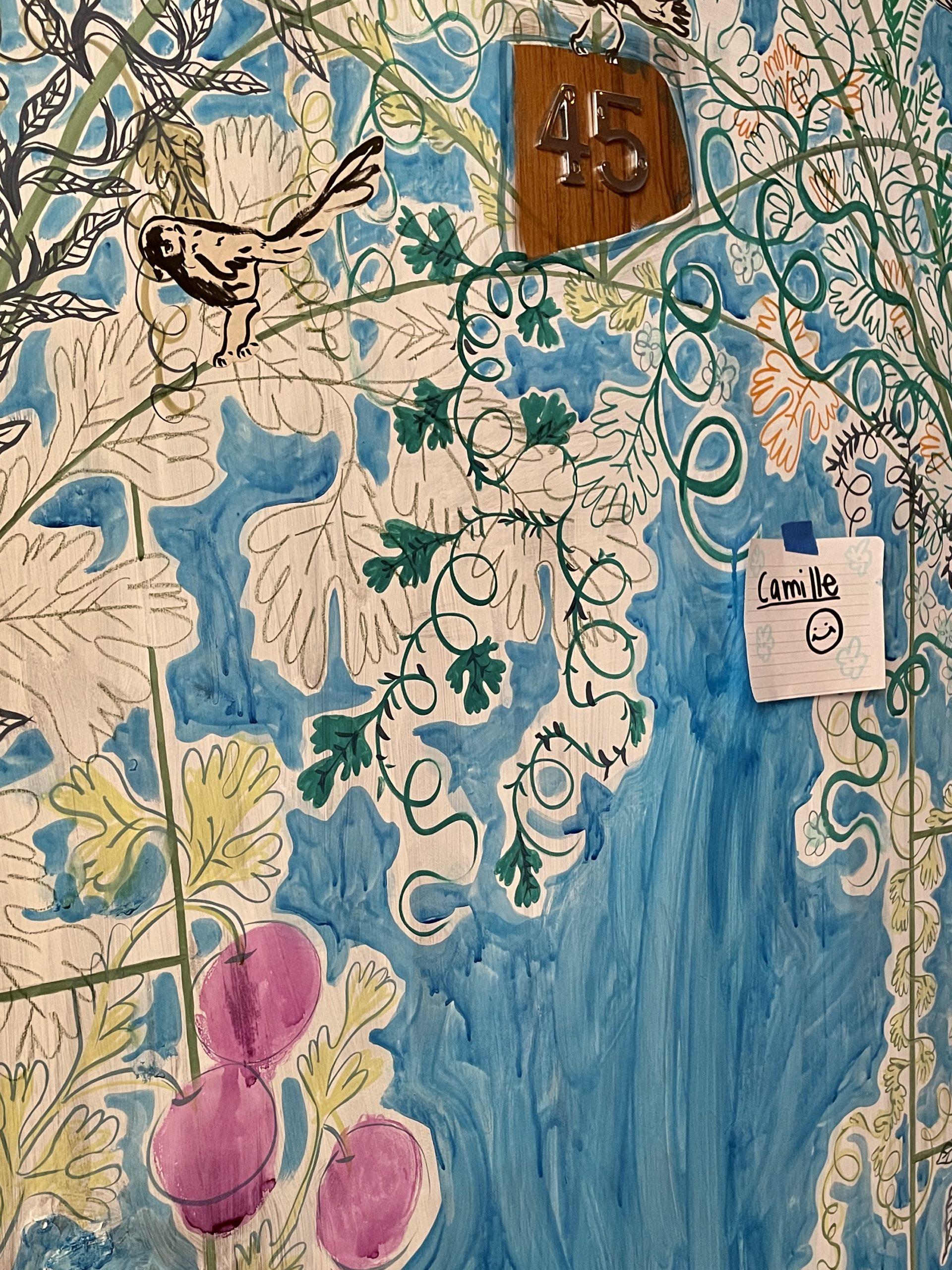 Vue de l'atelier, Camille Chastang, LA DRAWING FACTORY, COURTESY ARTVISIONS