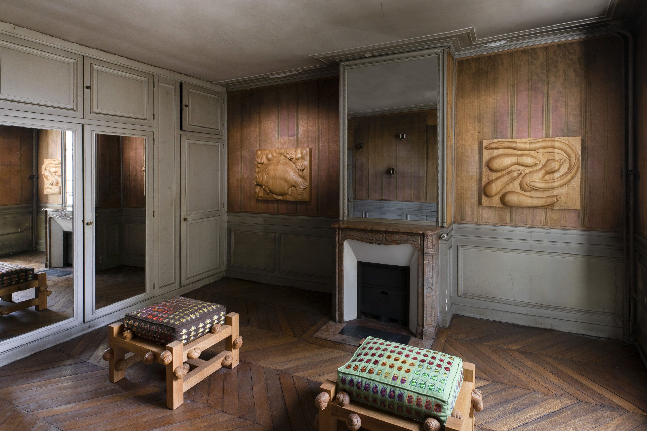 Vue d l'exposition, CLEARING_Grand Ménage_2021, courtesy galerie Clearing.