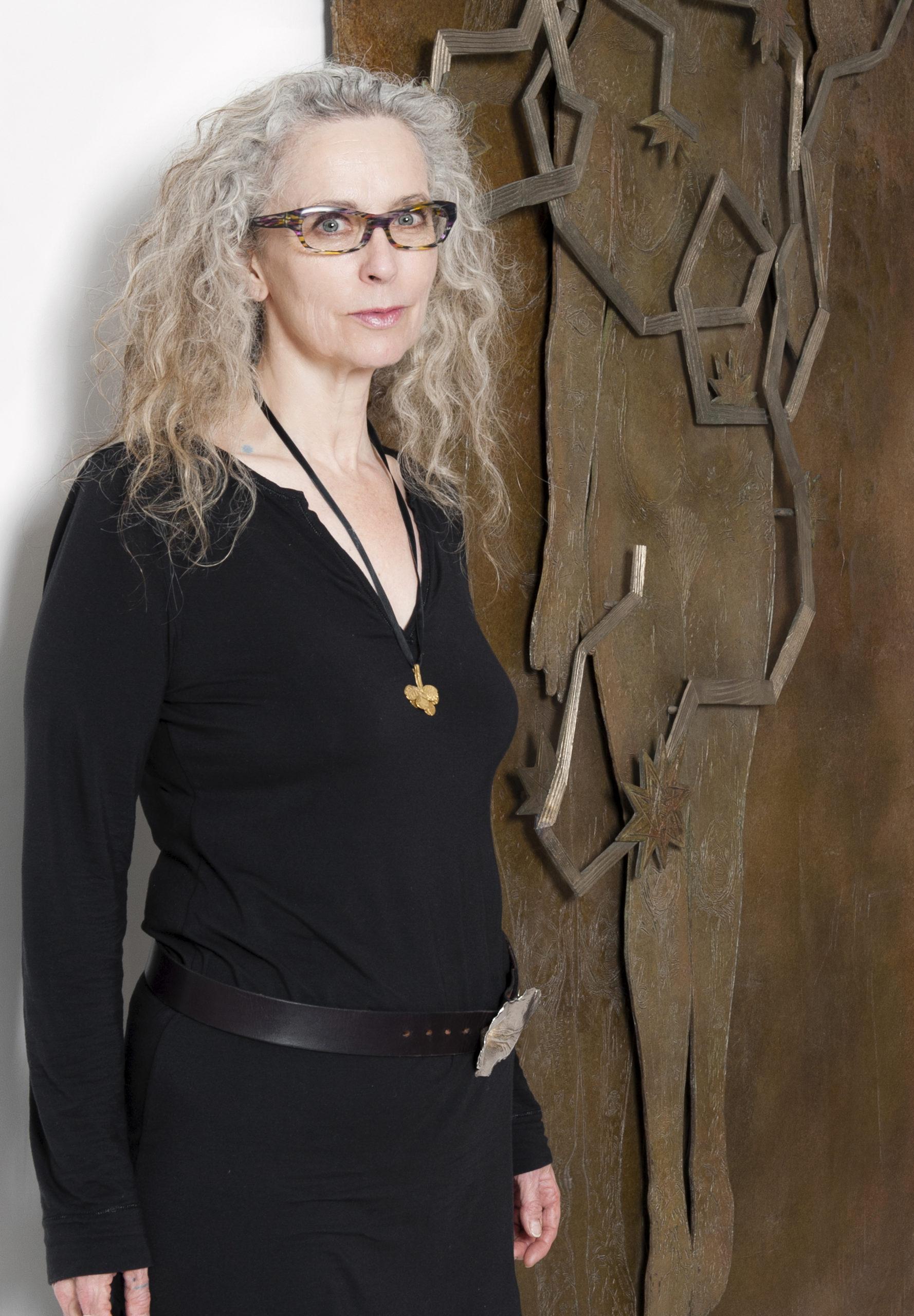 Portrait Kiki Smith, courtesy Galerie Lelong Paris