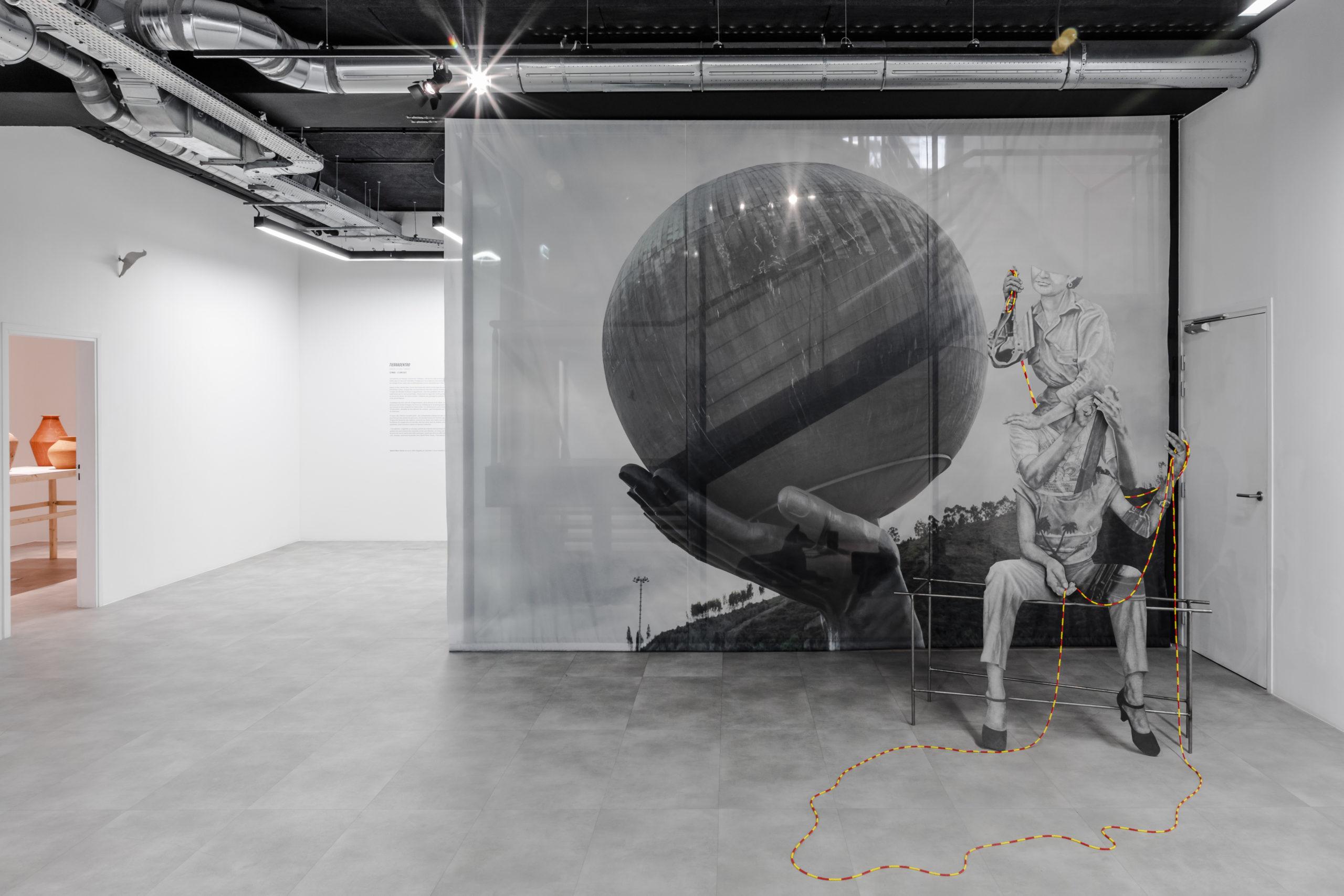 Vue de l'exposition Daniel Otero Torres, Tierradentro, commissariat Anaïs Lepage, 13 mars – 17 juin 2021, Production Drawing Lab Paris © Olivier Lechat