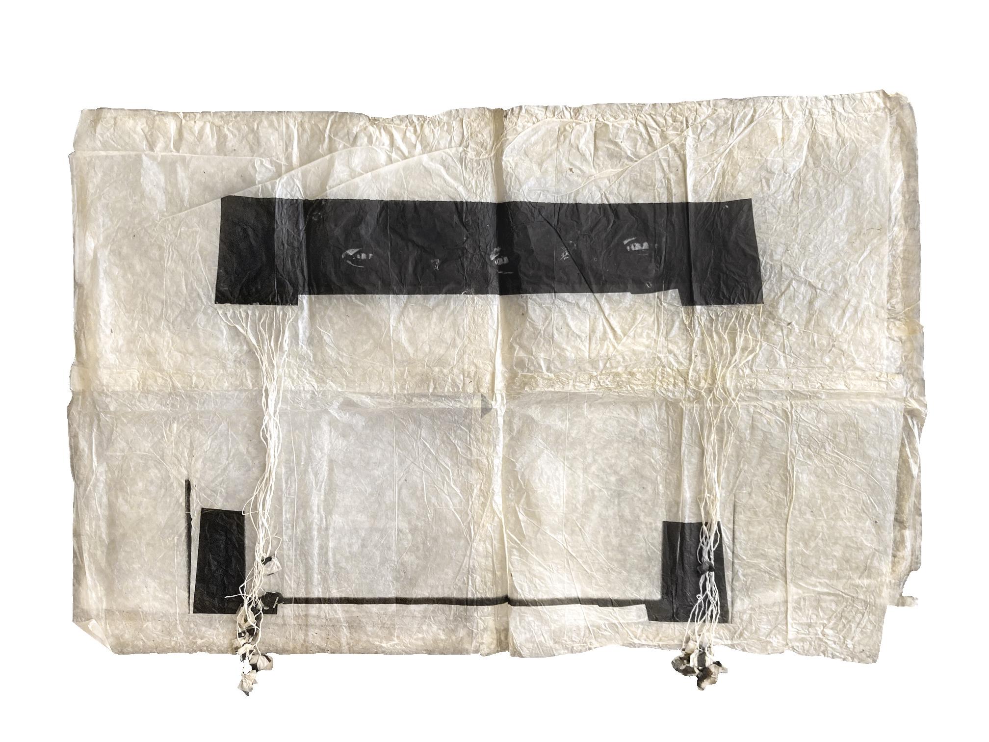 Kiki Smith Hunger, 1994 Encre sur papier népalais 101 x 147 x 2,5 cm, courtesy Galerie Lelong Paris